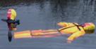 maniqui para rescate y salvamento acuatico