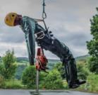 maniqui para pruebas de rescates en grandes alturas