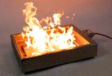generador de llamas ecologico